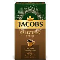 4056441_001w Cafea prajita si macinata Jacobs Selection Intense, 500 g