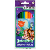 405802_001w Creioane colorate Starpak, Enchantimals, 12 buc