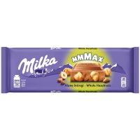 4071827_001w Ciocolata cu alune intregi Milka, 270 g