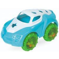 411135_001w Jucarie bebelusi BamBam, Masinuta mini albastru/verde