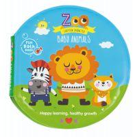 432478_001w Jucarie bebelusi BamBam, Carticica de baie cu animale de la Zoo