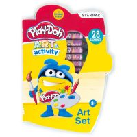 453894_001w Set de pictura Starpak, Play Doh, 28 piese