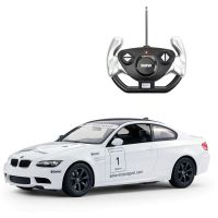 48000R_2018_002w Masinuta cu telecomanda Rastar BMW M3, Alb, 1:14