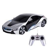 48400R_2018_002 Masina cu telecomanda Rastar BMW I8, 124, Gri