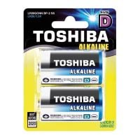 4904530589904_001 Set 2 baterii Alkaline Toshiba R20 D