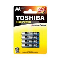 4904530592607_001 Set 4 baterii Toshiba High Power R3 ALK Blue Line AAA