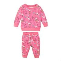 20203265 Set bluza cu maneca lunga si pantaloni sport Magical Days Minoti 4Jsuit
