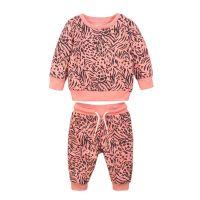 Set bluza cu maneca lunga si pantaloni sport Stripes Minoti 4Jsuit 20203267-74-80 cm (9-12 luni)