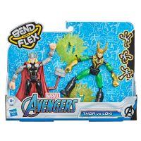 5010993792047 F0245 Set figurine Marvel, Avengers, Bend and Flex Thor vs Loki