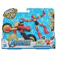 5010993792078 Figurina Marvel, Avengers, Bend And Flex Iron Man Flex Rider (1)