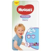 2558251_001w Scutece Huggies Mega Pants Boys, Nr 5, 12 - 17 Kg, 44 buc