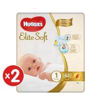 5029054217603_001w Pachet scutece Huggies Elite Soft, Nr 1, 3-5 kg, 164 buc