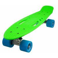521PBCITY01_001 Penny board DHS City, Verde/Albastru, 55 cm