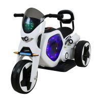 529SCOETROJKO01_001 Tricicleta electrica DHS, alb cu negru