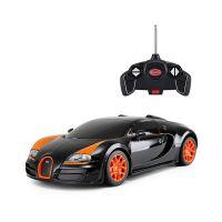 53900_2018_002 Masina cu telecomanda Rastar Bugatti Veyron Grand Sport Vitesse, 1:18, Negru