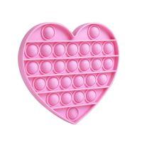 543334 inima roz Jucarie antistres, Pop It Now, inima, roz
