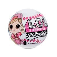 570363E7C Papusa LOL Surprise All Star B.B.s, Baseball, 8 Surprize, S1, Pink