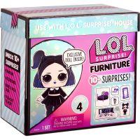 561736XX3 572640EUC Papusa si accesorii LOL Surprise Furniture, Cozy Zone and Dusk, S4, 572640EUC