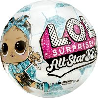 572671EUC roz/albastru Papusa LOL Surprise All Star B.B.s, Summer Sports, 8 surprize