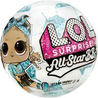572671EUC roz/albastru Papusa LOL Surprise All Star B.B.s, Summer Sports, 8 surprize