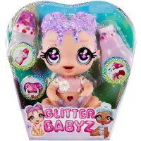 574866EUC_Papusa bebelus, Glitter Babyz Doll, Lavender