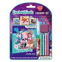 5902643693210 405885_001w Set creativ, Enchantimals, stampile si culori