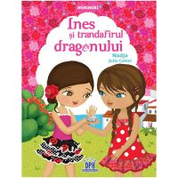 5948489351730_001w Carte Ines si trandafirul dragonului, Editura DPH