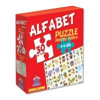 5948489351815_001w Puzzle pentru podea Editura DPH, Alfabet, 30 piese