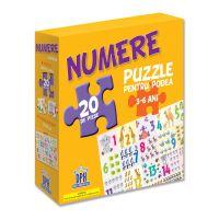 5948489354137_001w Puzzle pentru podea Editura DPH, Numere, 20 piese