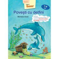 5948489356360_001w Carte Povesti cu delfini, nivel 3, 7-8 ani, Editura DPH