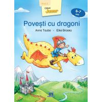 5948489356377_001w  Carte Povesti cu dragoni, nivel 2, 6-7 ani, Editura DPH