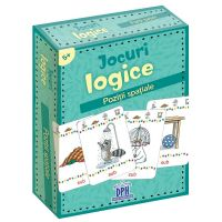 5948489356858_001w Jocuri logice, Pozitii spatiale, Editura DPH, 48 jetoane