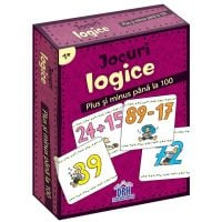 5948489356865_001w Jocuri logice, Plus si minus pana la 100, Editura DPH, 48 jetoane