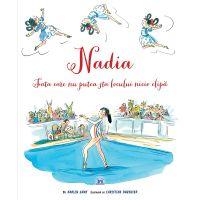 5948489357053_001w Carte Nadia - Fata care nu putea sta locului nicio clipa, Editura DPH