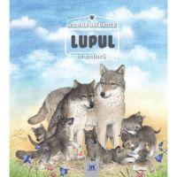 5948489357299_001w Carte Lupul - animale salbatice in natura, Editura DPH