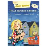 5948489358920_001w Carte Paula salveaza o pisicuta - nivel 2, Editura DPH