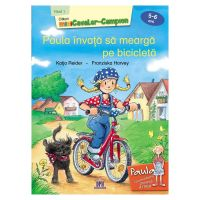 5948489358937_001w Carte Paula invata sa mearga pe bicicleta - nivelul 1, Editura DPH