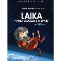 5948489359194_001w Carte Laika - Marea calatorie in spatiu, Editura DPH