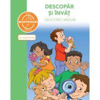 5948489359811_001w Carte Descopar si invat cele cinci simturi - dupa metoda Montessori, Editura DPH