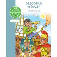 5948489359835_001w Carte Descopar si invat istoria lumii - dupa metoda Montessori, Editura DPH