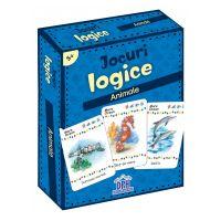 5948495000141_001w Jocuri logice, Animale, Editura DPH, 48 jetoane