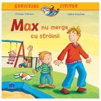 5948495000363_001w Carte Max nu merge cu strainii, Editura DPH