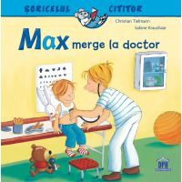 5948495000370_001w Carte Max merge la doctor, Editura DPH