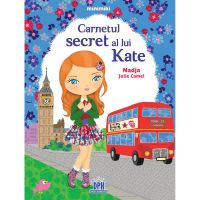 5948495000554_001w Carte Carnetul secret al lui Kate, Editura DPH