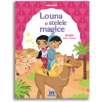5948495000592_001w Carte Louna si stelele magice, Editura DPH