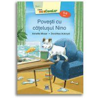 5948495002145_001w Carte Povesti cu catelusul Nino - nivel 1, 5-6 ani, Editura DPH