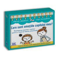 5948495002381_001w Carte Care sunt emotiile copilului meu Intelegerea emotiilor copilului (calendar), Editura DPH
