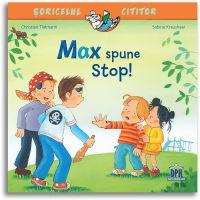 5948495002565_001w Carte Max spune stop! Editura DPH