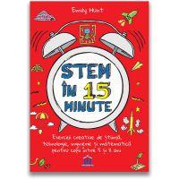 5948495002848_001w Carte Stem in 15 minute, Editura DPH