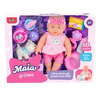 5949033916047 INT6047_001w Set Papusa Maia si pisicuta Coco, Maia